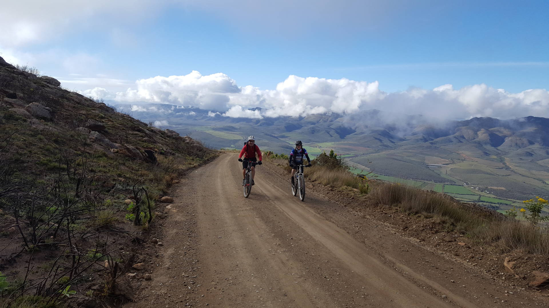 Cape town bicycle tours swartberg pass